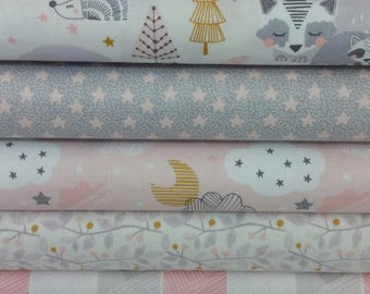 Pink Sweet Dreams Bundle from Blend Fabrics - 5 Fabrics
