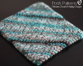 Crochet Pattern - Crochet Potholder Pattern - Crochet Pattern Hot Pad - Kitchen Crochet Pattern - Home Decor Crochet Pattern - PDF 449