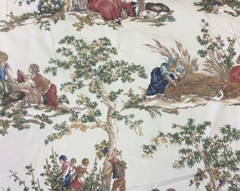 Kravet Guinevere cotton print fabric by the metre