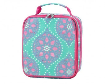Marlee Insulated Lunch Box * Monogrammed FREE * / Girls Lunch Box / Personalized Lunch Box / Back to School Gear / FREE Personalization