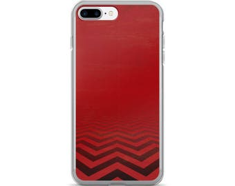 Twin Peaks, Red Chevron iPhone 7/7 Plus Case