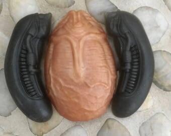 Aliens... Inspired Soaps