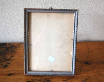 Vintage Picture Frame Small Wooden Picture Frame Vintage Douglas Manufacturing Company Picture Frame from The Eclectic Interior
