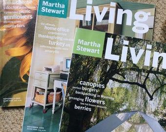 1995 Martha Stewart Living magazines
