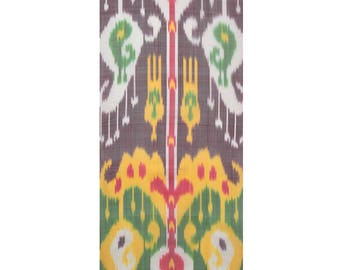 Sale! Ikat Fabric, Ikat Fabric by the yard, Hand Woven Fabric , F-A464