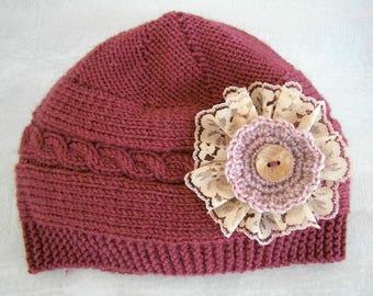 Knit Baby Girl Hats, Knit Baby Hat Girl, Newborn Knit Hats, Baby Girl Knit Hats, Hand Knit Baby Hats Newborn Baby Girl Knit Hat