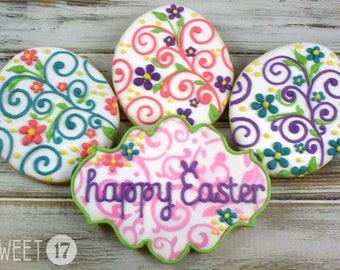 Easter Sugar Cookies (Set of Eight)