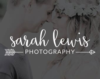 Photography Logo, Handwritten Cursive Logo, Photography Watermark, Photography Stamp, Business Logo, Branding Kit, Brother Wilson - BW004