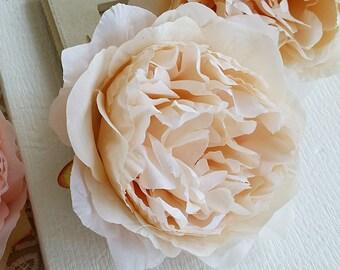 10 cm Forest Series Big Peony Silk Flower/ Artificial Flowers/wedding/ Flower crown /Flower Bouquet/ Brooch/Tutu/Hat /Shoe accessories(t.a)