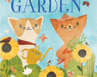 Signed Children's Book - A Peaceful Garden