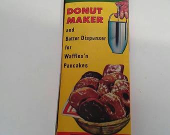 Vintage Fairgrove Aluminum Donut Maker Box