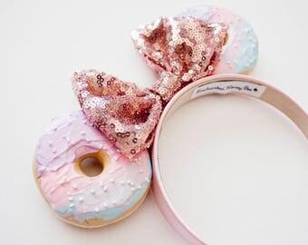 Beautiful Mickey Mouse Ears / Minnie Mouse Ears / Minnie Ears / Mouse Ears / Birthday Gift for Her / Disney Ears / Donut Ears / Pink Ears