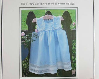Sundress Pattern / Fancy View / Play Dress View/ Classic Pattern / by the Old Fashioned Baby