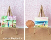 Sold reserved for HA commissioned Miniature Dolls House Art