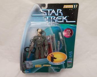 Star Trek BORG Action Figure - New in Box - NIB - Star Trek Serialized Warp Factor Series 1