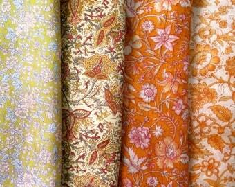 Fat Quarters, Silk Fabric, Sari Silk, FQ 179
