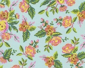 PRESALE - Menagerie - Jardin de Paris in Mint - Anna Bond for Cotton + Steel - 8030-01 - 1/2 Yard