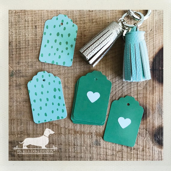 DOLLAR DEAL! Pickled Heart. Gift Tags