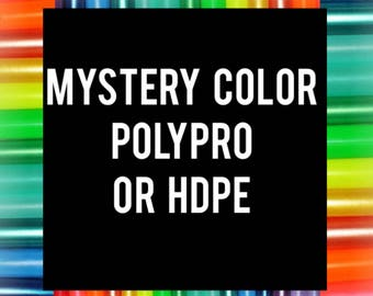 "20% off SALE - MYSTERY colored HDPE or Polypro 5/8"" 3/4"" Performance Dance & Exercise Hula Hoop"