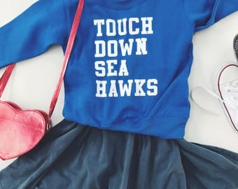 Touchdown Toddler Crew Neck Sweatshirt