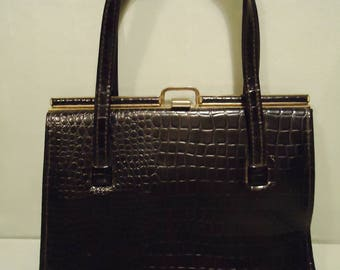 Black 1960s Fabulous Handbag Purse