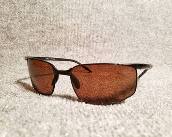 Mens Bolle Wrap Around Rally Polarized Sport Sunglasses Mint Condition