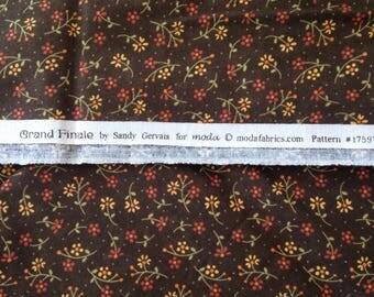 Quilt binding Grand Finale Moda Fabric Sandy Gervais one yard