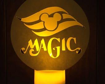 NiteNiteTealight, Paper Lanterns, Luminaryu, Paper Luminary, Lanterns, Fish Extenders, DCL, Disney FE, Tealight,Disney Magic