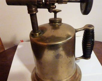vintage  brass blow torch