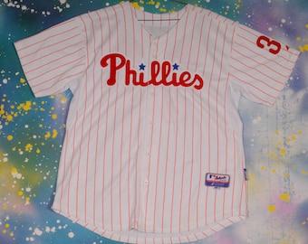 Philadelphia PHILLIES #34 Halliday Baseball Sports Jersey Size 52