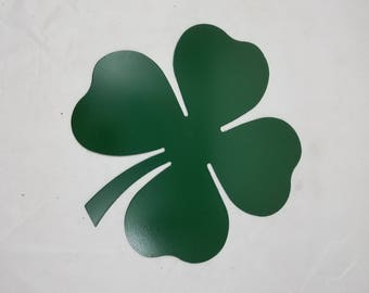 Custom Metal 4-Leaf Clover Cutout