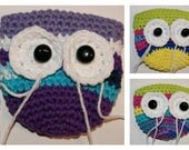 Owl Shoulder Style Purse and Owl Coin Purse