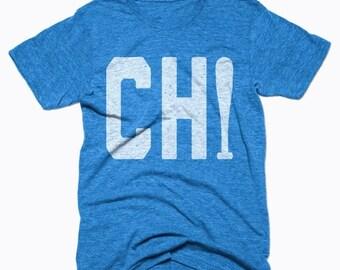 SUMMER SALE Chicago Cubs Shirt - Chicago Baseball - Chicago Shirt - Men's Unisex Sizing - Vintage Print -