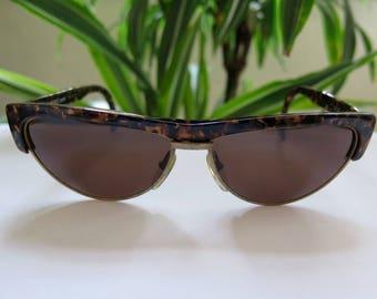 ALAIN MIKLI Paris 2615 514 Vintage 80s/90s Handmade Tortoiseshell Sunglasses