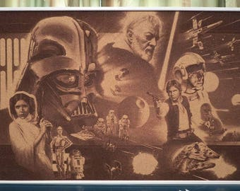 Star Wars Cork Board