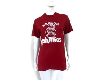 Vintage Philly Tee Shirt 1980's Tee Shirts World Champions
