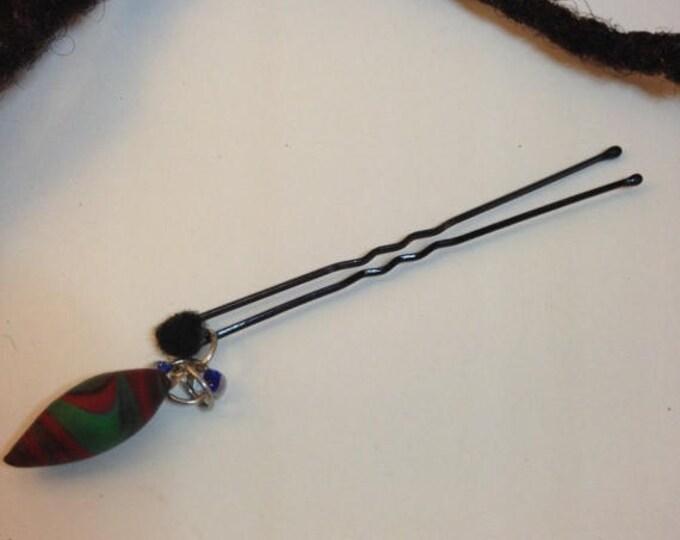 SALE Hair Pin. Bead Jewelry. Locs, Dreadlocks, Braids and Twists