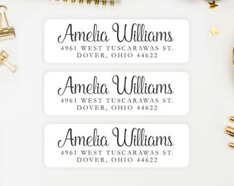 Address shipping labels etsy address labels personalized return address labels custom address labels address sticker address stopboris Gallery