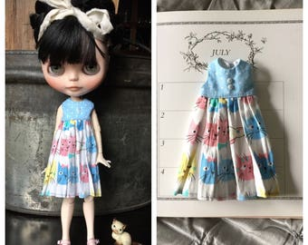 RESERVED FOR JUDY - Neo Blythe Dress - The Cat's Meow