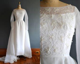 Betsy / 50s wedding dress / vintage wedding dress