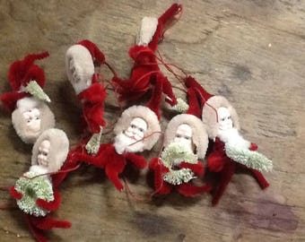 Vintage Pipe Cleaner Santas