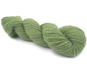 New York 100 % Organic Merino Wool - Olive Melange