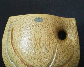 Mid Century Modern Large Toyo Abstract Expressionism Vase