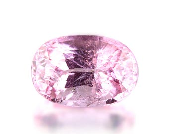 2.26ct Unheated Untreated Burmese Pink Spinel Long Oval Shape Loose Gemstones (Watch Video) Free Shipping SKU 2326