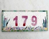 Custom number plaque
