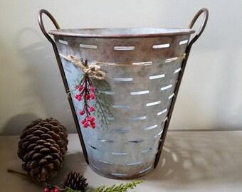 Olive Basket Farmhouse Basket