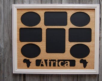 11x14 Africa Picture Frame, Africa Wall Decor, Africa Gift, African Safari Picture Frame, Africa Vacation, Traveler Gift
