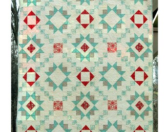 Star Crossed Quilt Pattern PDF by Four Robbins Designs - Immediate Download