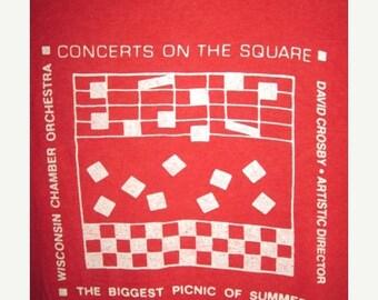 35% OFF Vintage 1980s David Crosby The Byrds Concert Tour T-shirt