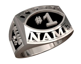 Championship Style Contemporary Ring